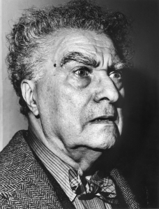 Edgard Varèse (1883-1965), mystic, composer, and pioneer of spatial and electronic music.